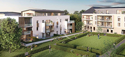 Appartement neuf T4  traversant - Grande terrasse - 2 places de parking